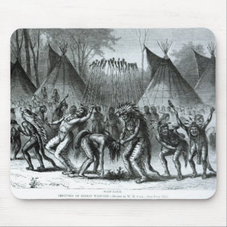 Scalp Dance from 'Sketches of Indian Warfare' Mouse Pad