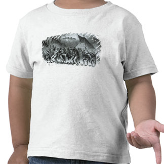 Scalp Dance from 'Sketches of Indian Warfare' Tee Shirts