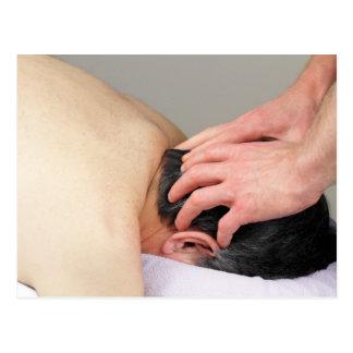 Scalp Massage Photo Postcards