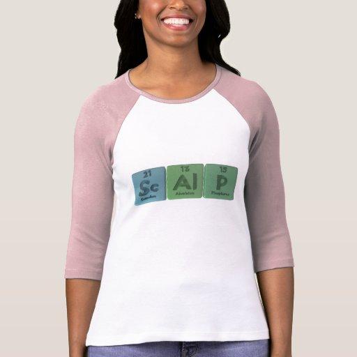 Scalp-Sc-Al-P-Scandium-Aluminium-Phosphorus.png Tshirts
