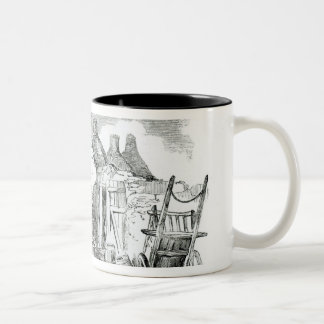 Scalpeen of Tim Downs, at Dunmore Two-Tone Coffee Mug