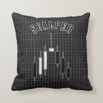 Scalper Throw Pillow