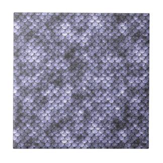 Scaly Gray Snakeskin Tile
