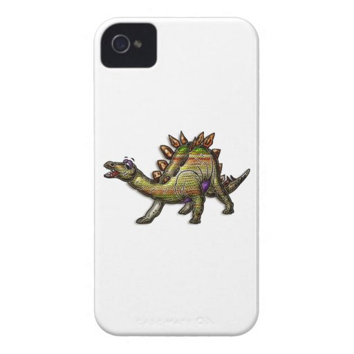 Scaly Rainbow Diosaur Case-Mate iPhone 4 Cases