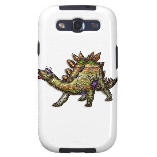 Scaly Rainbow Diosaur Samsung Galaxy S3 Cases