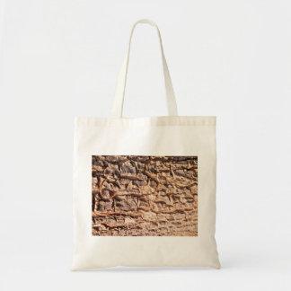 Scaly Tree Bark Budget Tote Bag