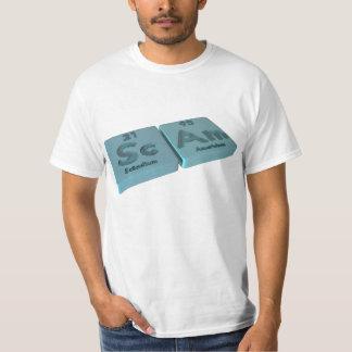 Scam as Sc Scandium and Am Americium T-Shirt