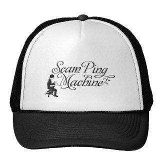 Scam Ping Machine Trucker Hat