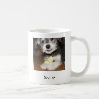 Scamp Classic White Coffee Mug