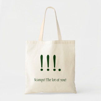 Scamps! Budget Tote Bag