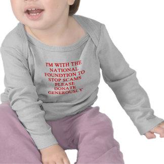 SCAMS nd crooks joke T Shirts
