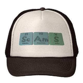 Scams-Sc-Am-S-Scandium-Americium-Sulfur.png Hats