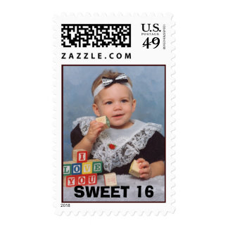 scan0001, SWEET 16 Postage Stamp