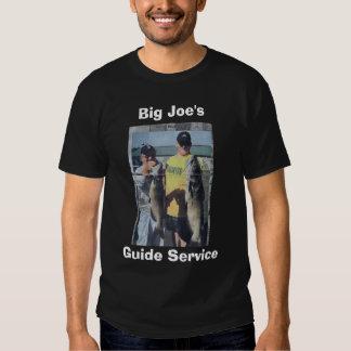 scan0002, Big Joe's, Guide Service T-shirts
