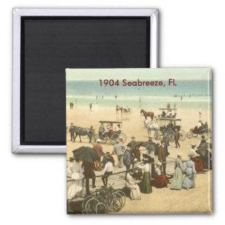 scan0002, Seabreeze, FL 2 Inch Square Magnet