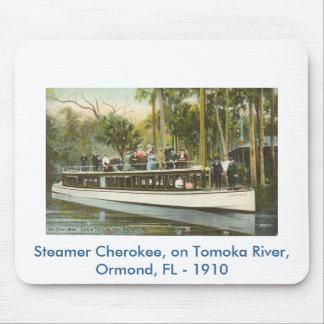 scan0009, vapor cherokee, en el río de Tomoka, o… Tapete De Ratones