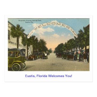 scan0013, Eustis, Florida Welcomes You! Postcard