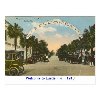 scan0013, Welcome to Eustis, Fla. - 1910 Postcard