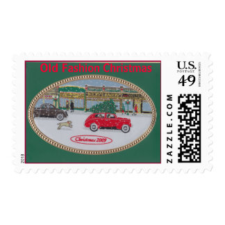 Scan 1, Old Fashion Christmas Postage