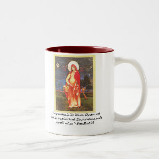 "Scan, ""Every mother is like Moses. She does not... Coffee Mugs"
