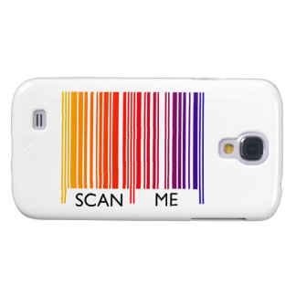 Scan Me Colorful Barcode Samsung S4 Case