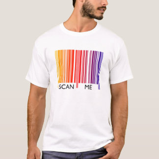 Scan Me Colorful Barcode T-Shirt