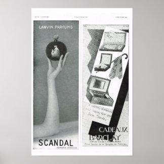 Scandal; Cadeaux Barclay Poster