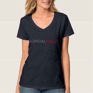 Scandal Holic Womens V-Neck T-Shirt