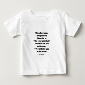 Scandalize you as the worst baby T-Shirt