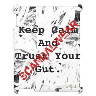 Scandalwear® ( Keep Calm And Trust Your Gut) Case For The iPad 2 3 4
