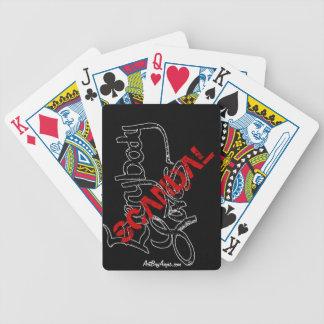 Scandalwear® PLAYING CARDS by ArtBuyAngie™