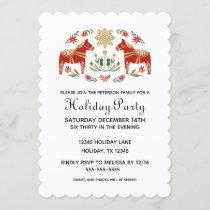 Scandi Holiday Party Invitation