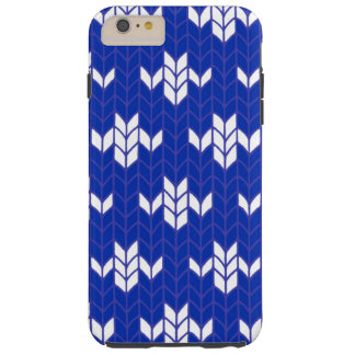 Scandia Blue Knit iPhone6 Plus Case