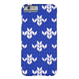 Scandia Blue Knit iPhone 6 Case
