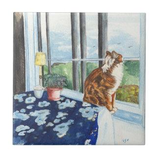 Scandia Cat Tile