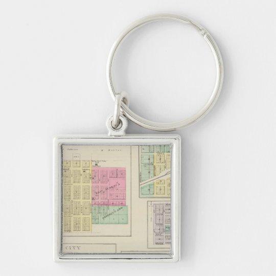Scandia, Mystic, White Rock, Ida, Cuba, Kansas Keychain