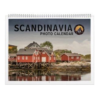 Scandinavia 2021 calendar