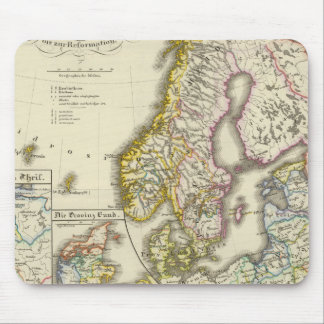 Scandinavia and Poland, church Mouse Pad
