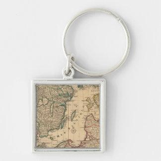 Scandinavia, Baltic Sea, Sweden, Denmark Keychain