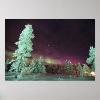 Scandinavia, Finland, Lapland, Kakslauttanen, Poster
