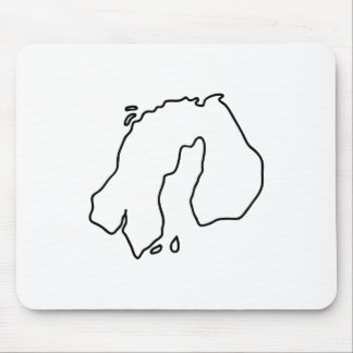 Scandinavia Finland Sweden Norway Mouse Pad