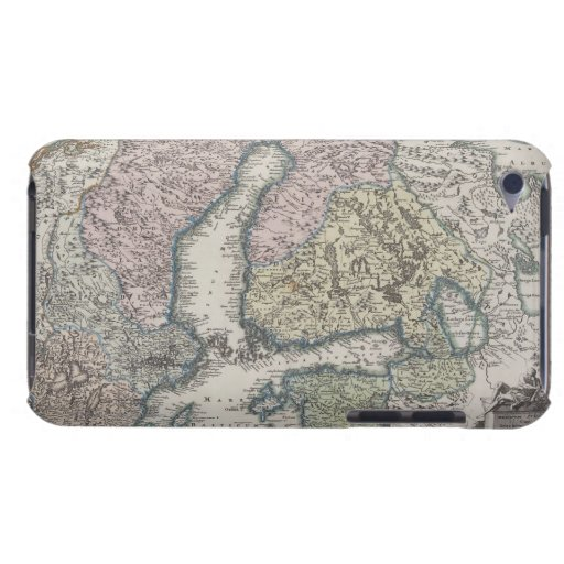 Scandinavian Antique Map iPod Touch Cover