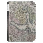 Scandinavian Antique Map Kindle Covers
