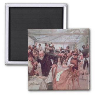 Scandinavian Artist's Luncheon Magnet