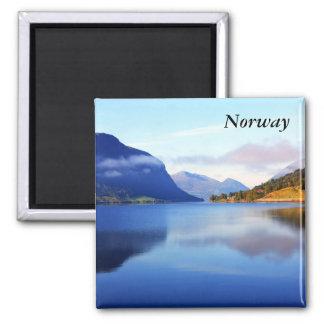 Scandinavian beauty Norway Fridge Magnet