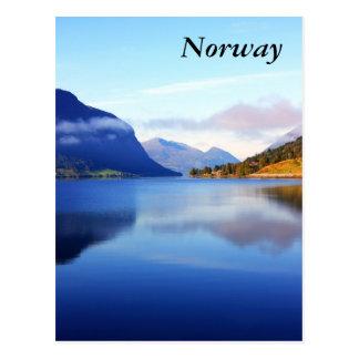Scandinavian beauty Norway Post Card
