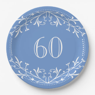 60 years old plates zazzle. Black Bedroom Furniture Sets. Home Design Ideas