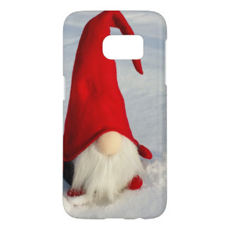 Scandinavian Christmas Gnome Samsung Galaxy S7 Case