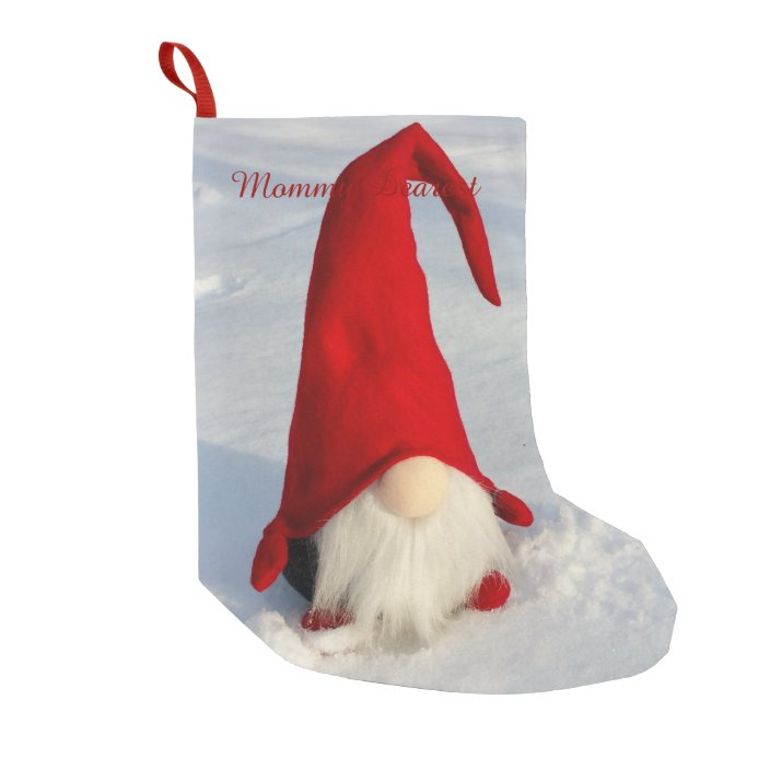 Small Scandinavian Christmas Stocking