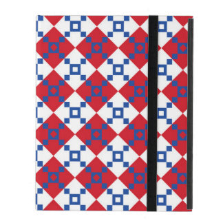 Scandinavian Christmas Pattern iPad Folio Case